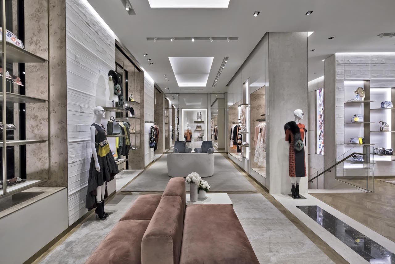 Fendi's luxe new boutique in downtown San Francisco