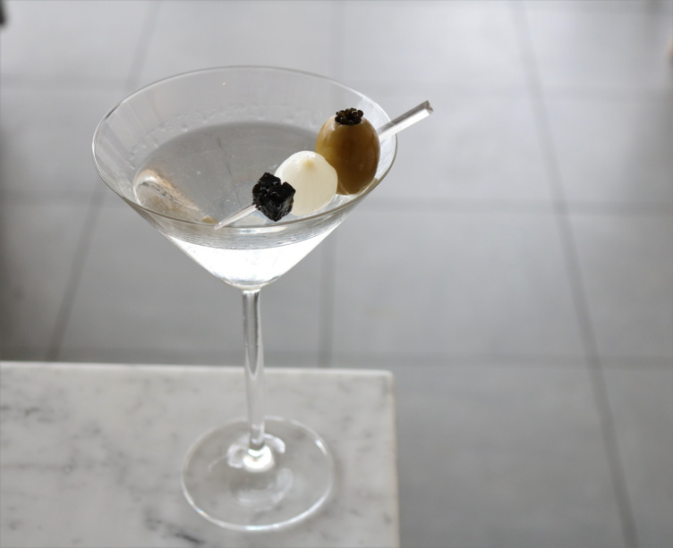 Caviartini at Petrossian