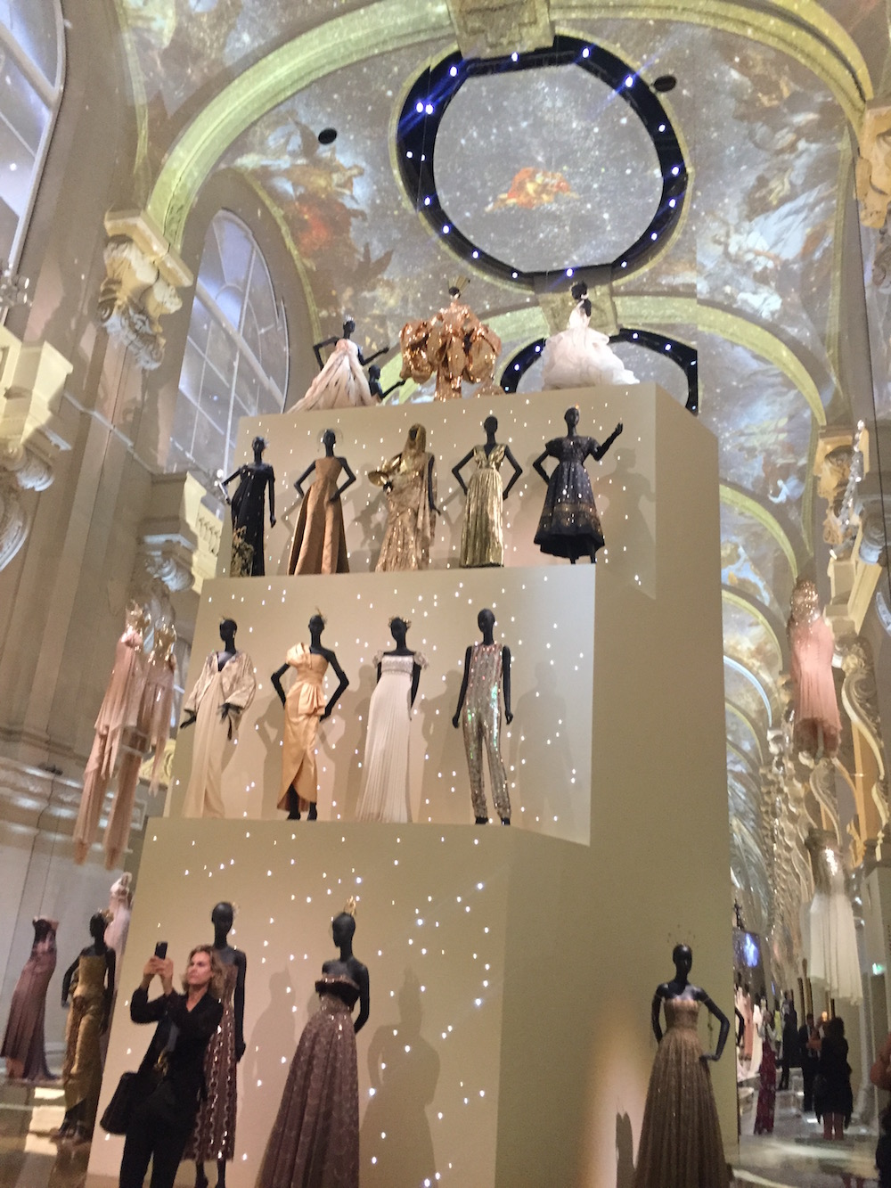 The Christian Dior exhibit at Les Arts Décoratifs is from July 5 to January 7.