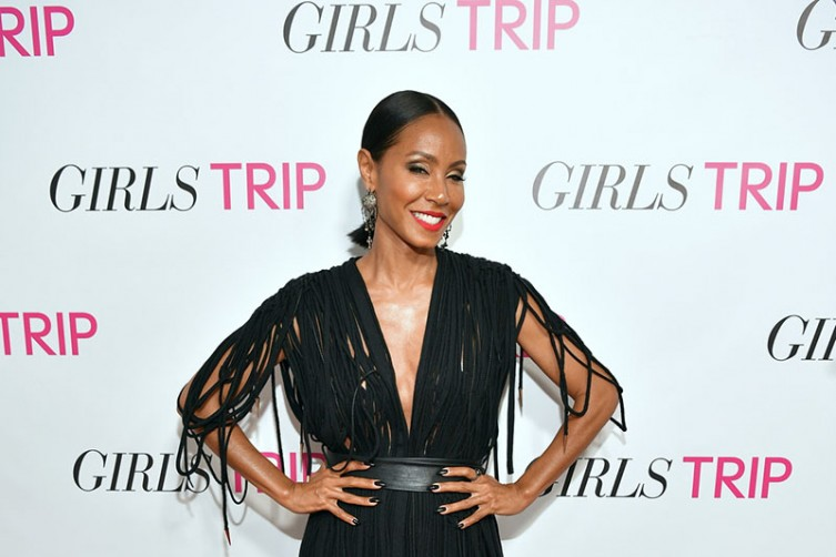 "ATLANTA, GA - JULY 11: Jada Pinkett Smith attends ""Girls Trip"" Atlanta Screening at SCADshow on July 11, 2017 in Atlanta, Georgia. (Photo by Prince Williams/WireImage) *** Local Caption *** Jada Pinkett Smith"