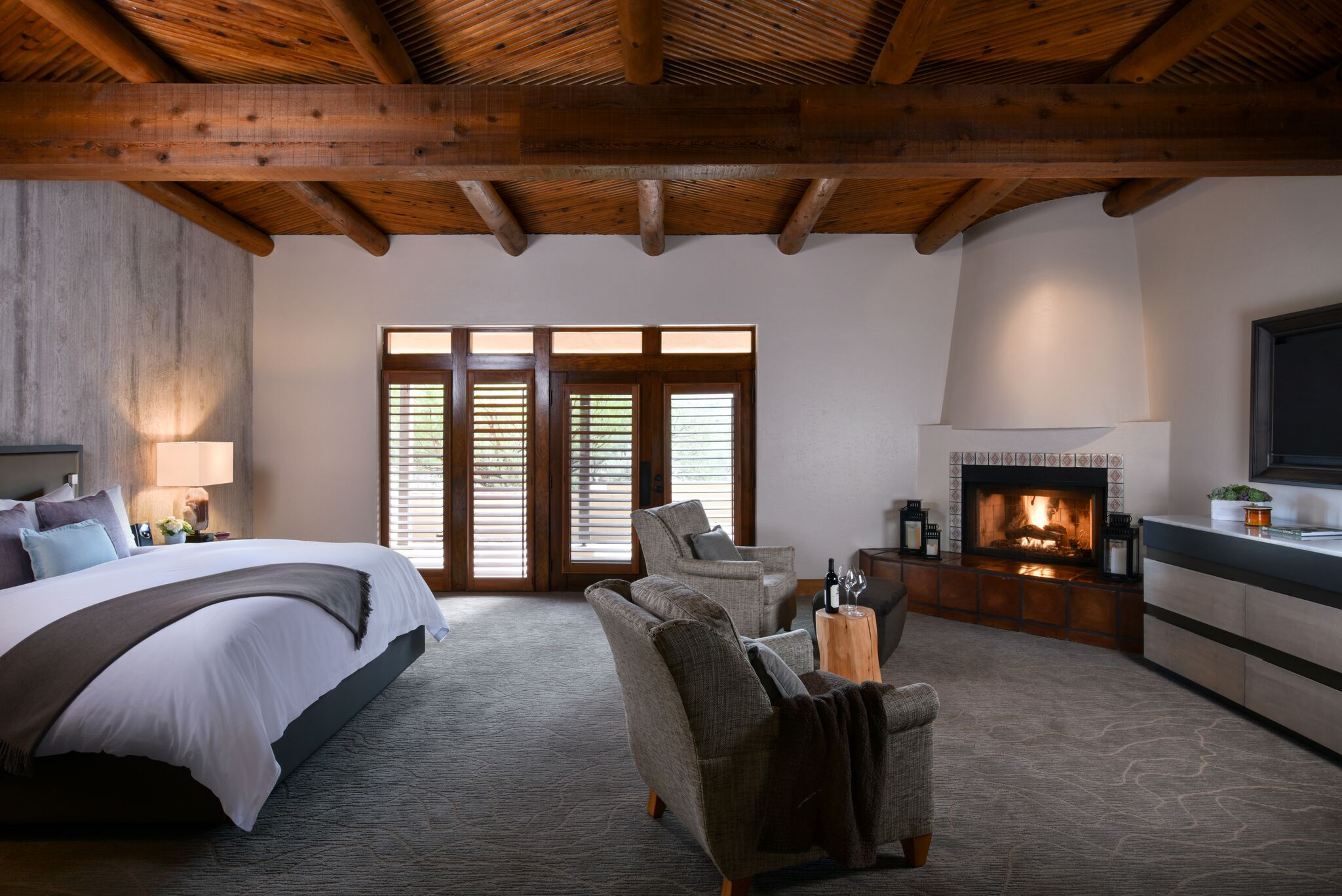 A luxe suite at Miraval