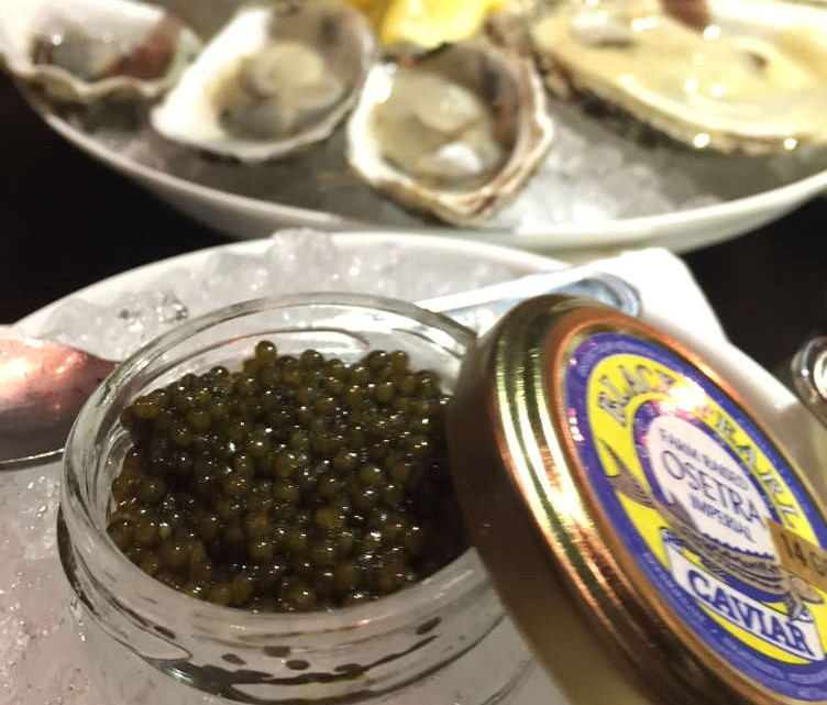 The Mama Lion caviar experience