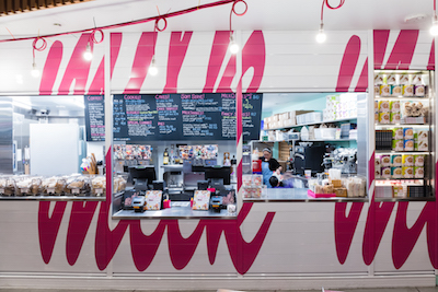 Milk Bar interior - photo credit, Gabriele Stabile