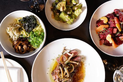 Momofuku Las Vegas Dishes - photo credit Gabriele Stabile