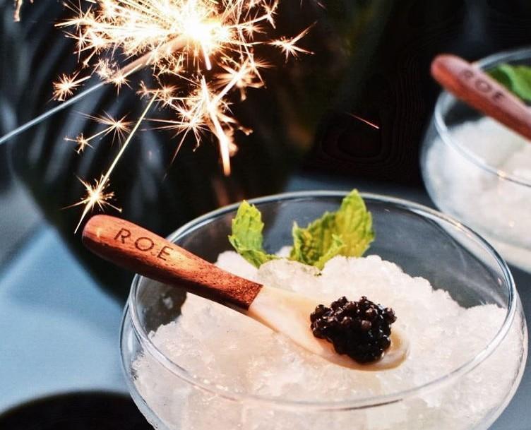 champagne caviar other delicacies