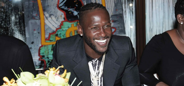 Antonio Brown Celebrates 29th Birthday Bash at Cipriani Downtown