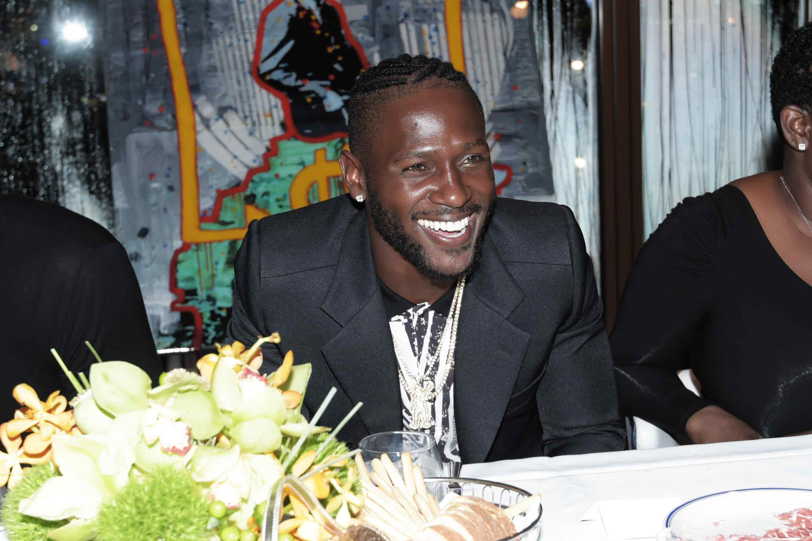 Antonio Brown Celebrates 29th Birthday Bash At Cipriani
