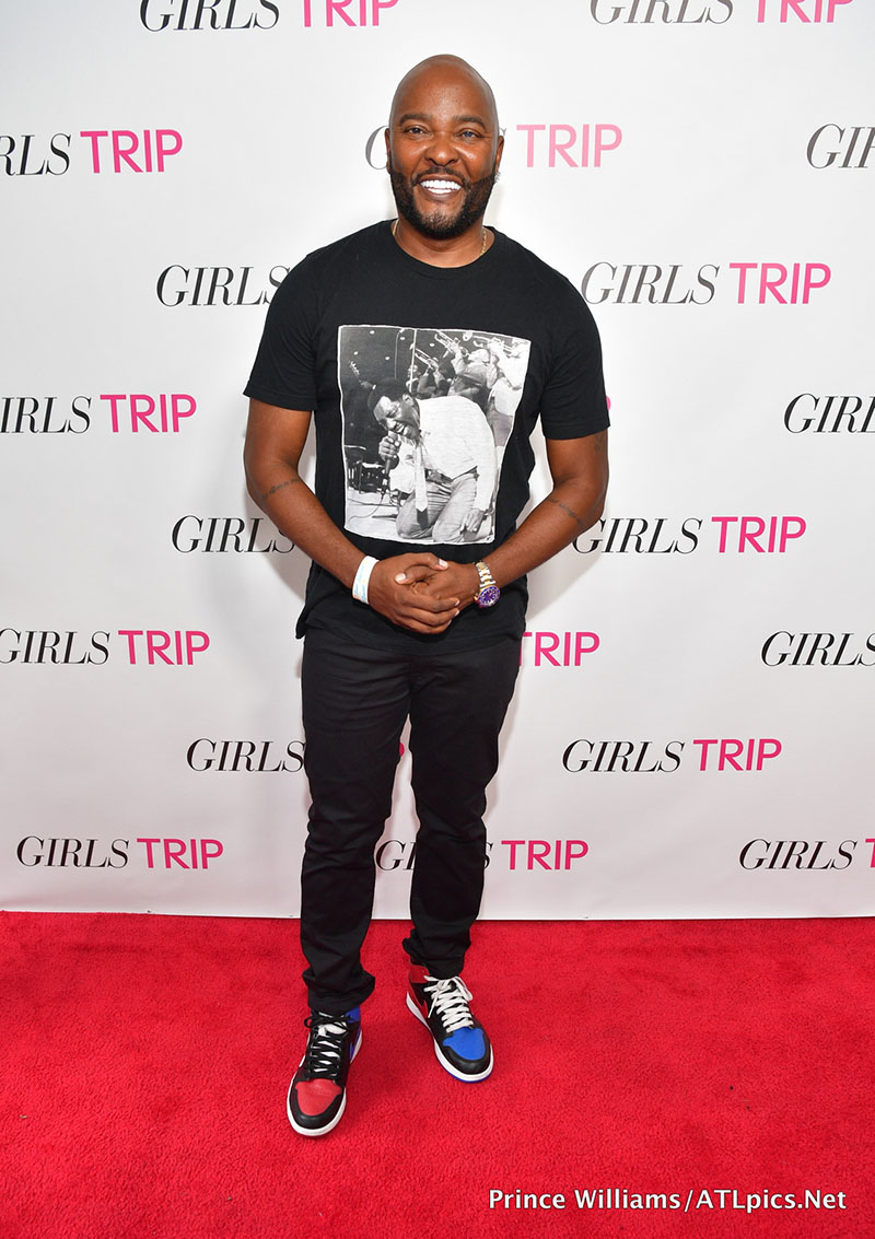"ATLANTA, GA - JULY 11: Ryan Cameron attends ""Girls Trip"" Atlanta Screening at SCADshow on July 11, 2017 in Atlanta, Georgia. (Photo by Prince Williams/WireImage) *** Local Caption *** Ryan Cameron"