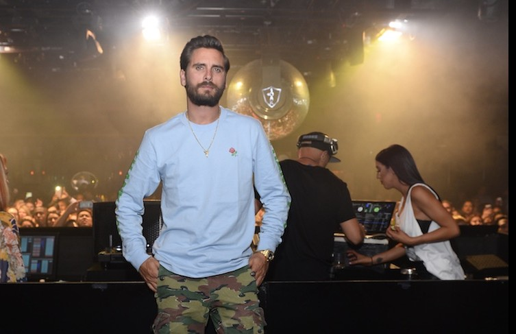 Scott Disick returns to 1OAK Nightclub.