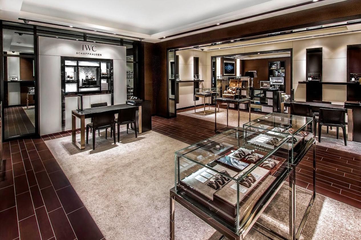 IWC boutique