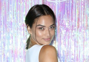 Model Shanina Shaik at Bollare's kick-off party