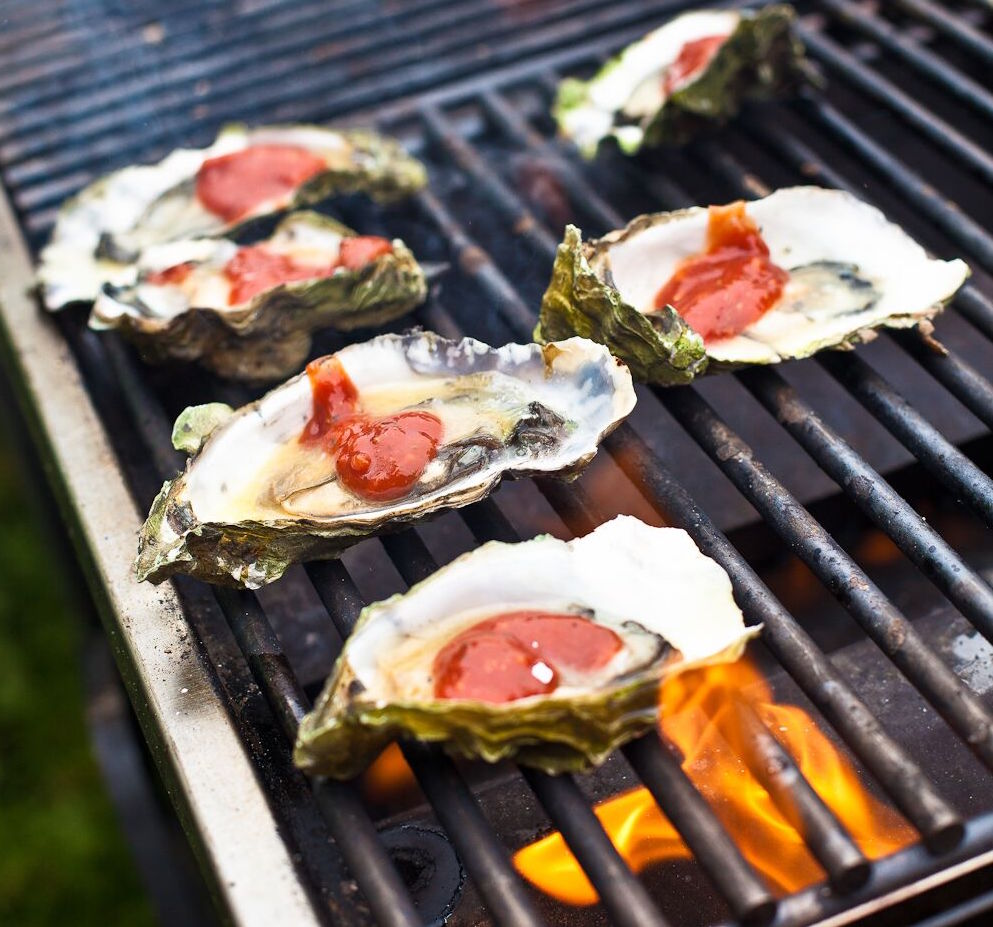 Woodhouse barbecued oysters