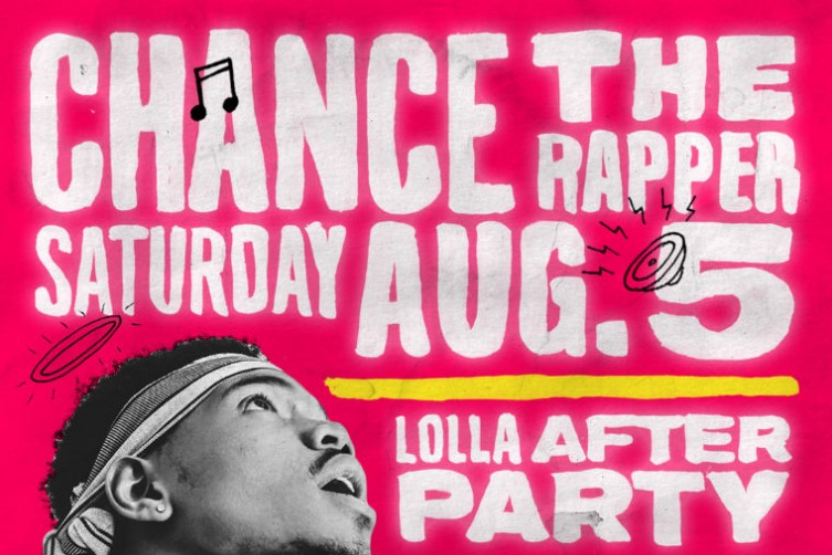 chance the rapper lollapalooza afterparty 1