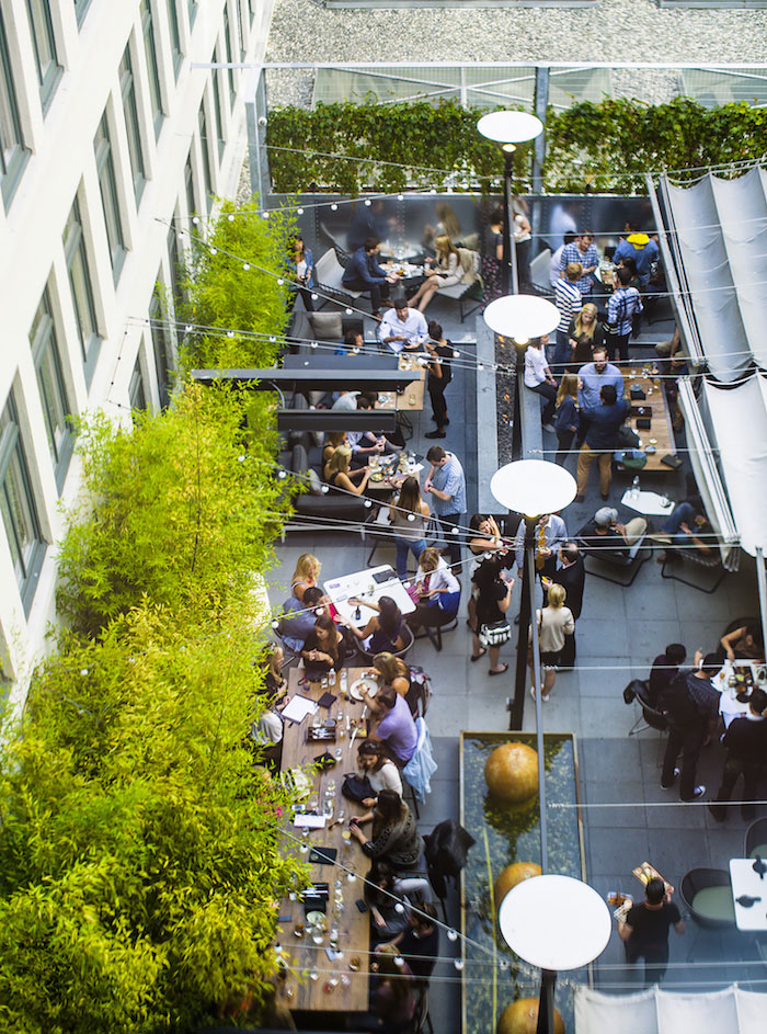 The rooftop patio at Dirty Habit is upping its brunch game