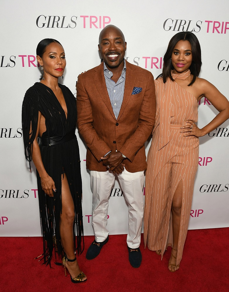 ATLANTA GA- JULY 11  Jada Pinkett Smith Will Packer Regina Hall at