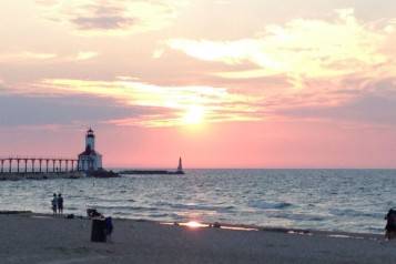 michigan city beach