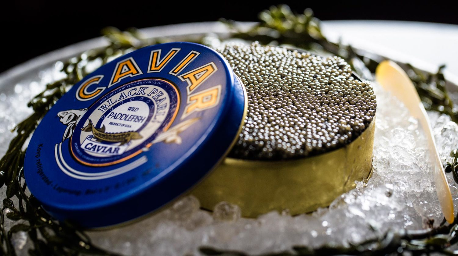 Caviar at Farallon