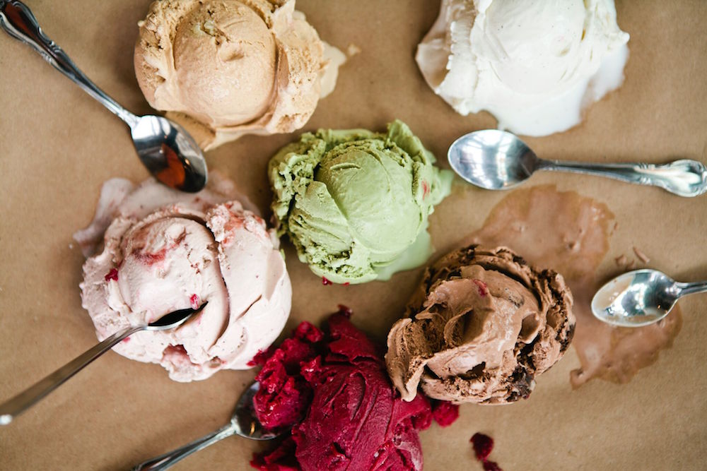 Scoops from Salt and Straw