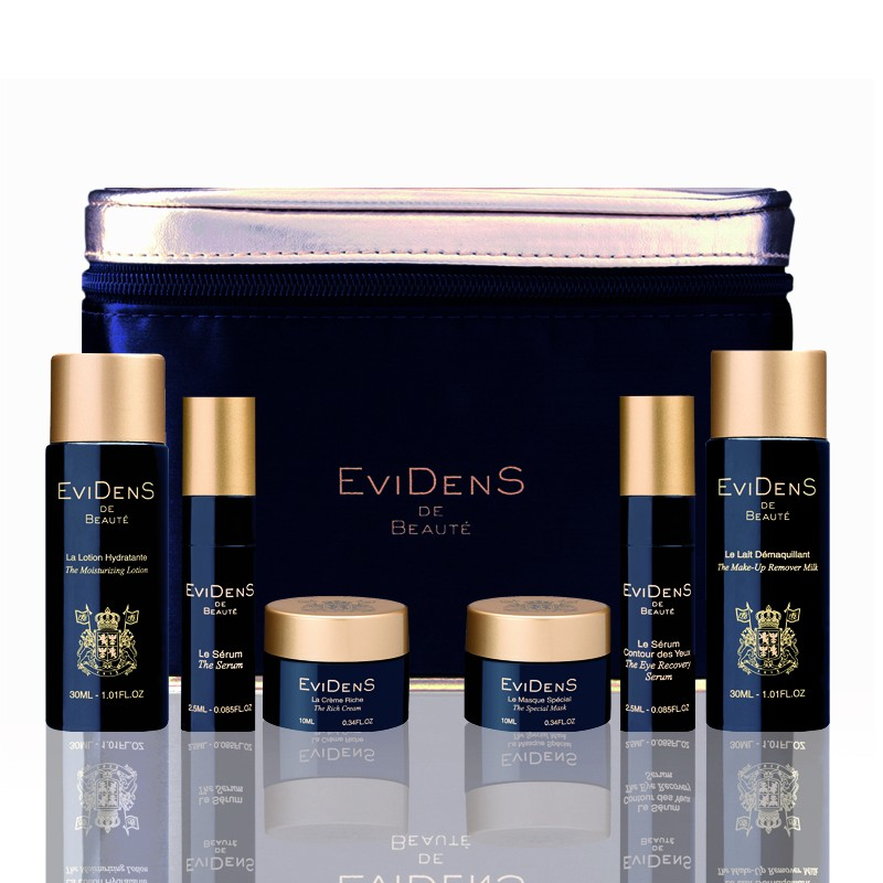 Evidens de Beauté products