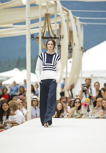 Saks Fifth Avenue & The League to Save Lake Tahoe Present Oscar de la Renta at Lake Tahoe