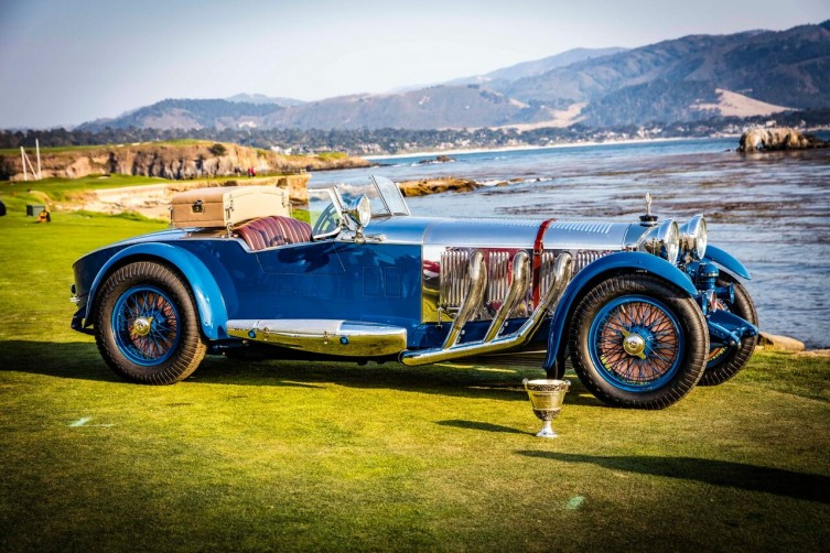 The winner of Pebble Beach: 1929 Mercedes-Benz S Barker Tourer