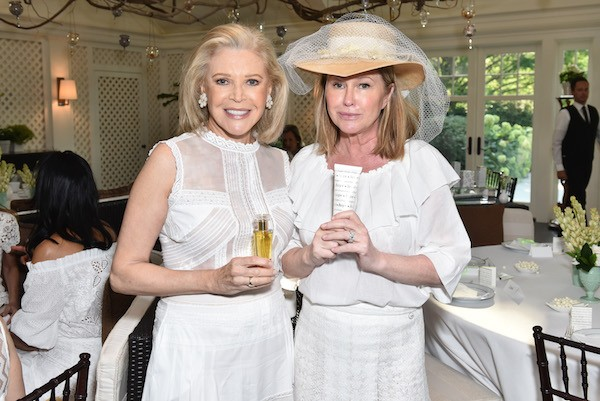 Audrey Gruss and Kathy Hilton