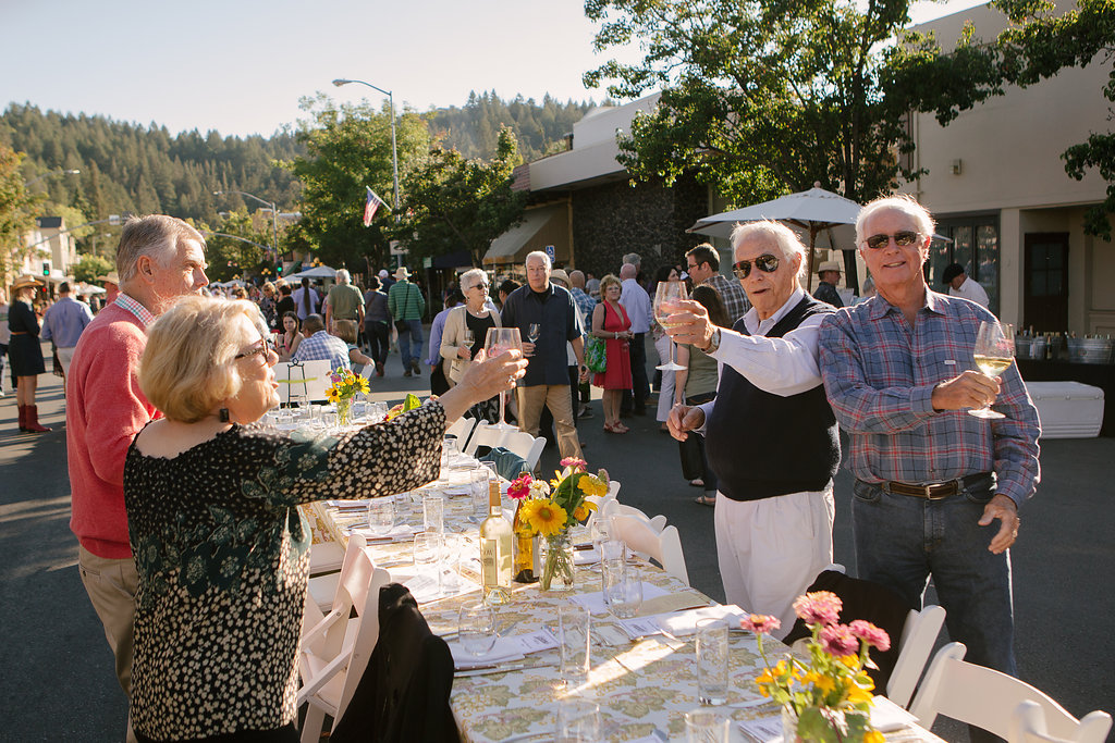 Calistoga Harvest Table 2016