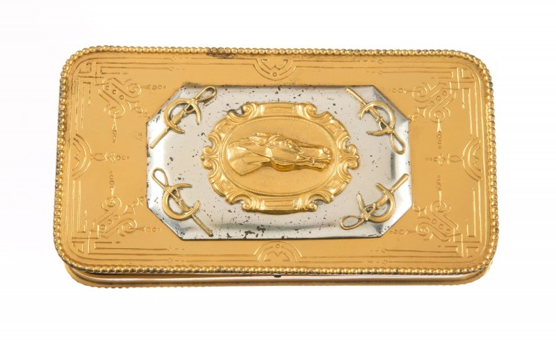 -Rhett Butler's cigar case used by Clark Gable in Gone with the Wind, MGM, 1939.