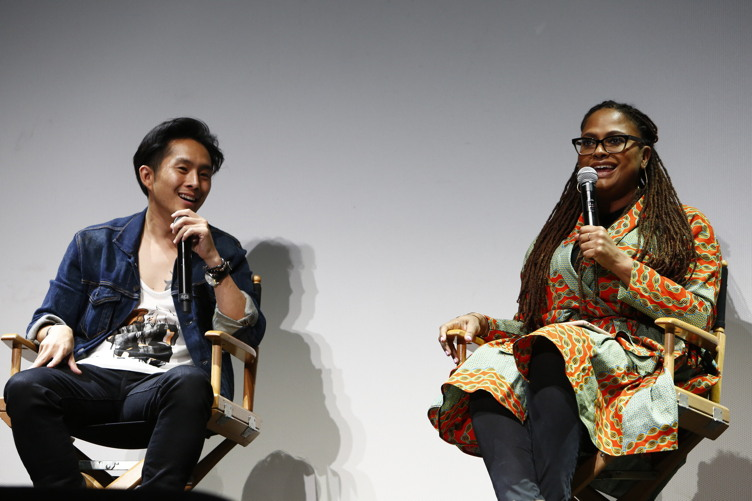 Justin Chon and Ava DuVernay