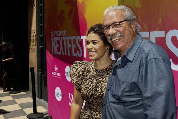 America Ferrara and Edward James Olmos