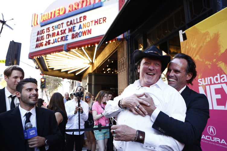 Michael Madsen and Kirk Baltz