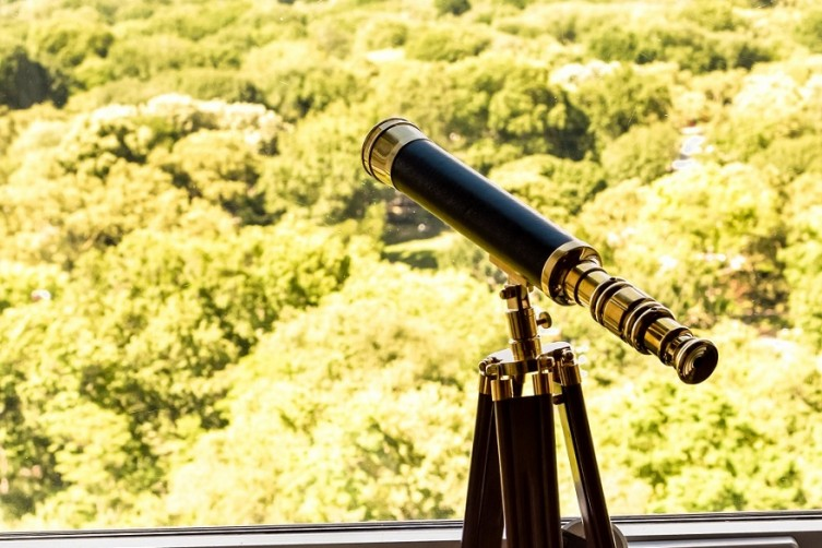 50 Central Park Telescope