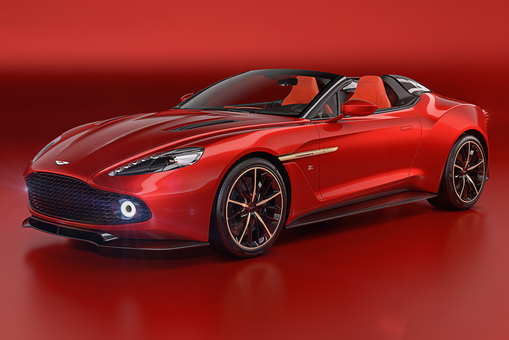 Aston Martin Vanquish Zagato Speedster unleashed