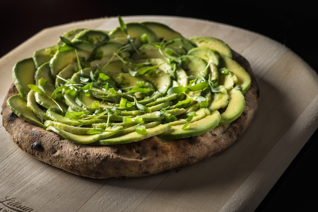 Avocado and Jalapeño Pizza at Matador Room