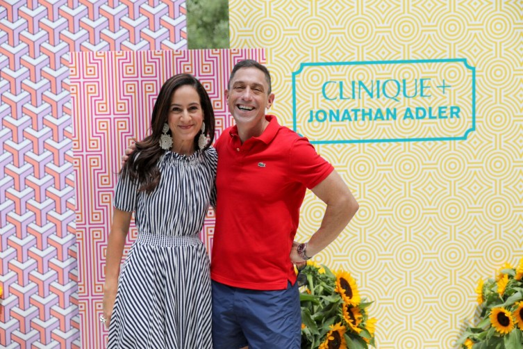 Jane Lauder and Jonathan Adler