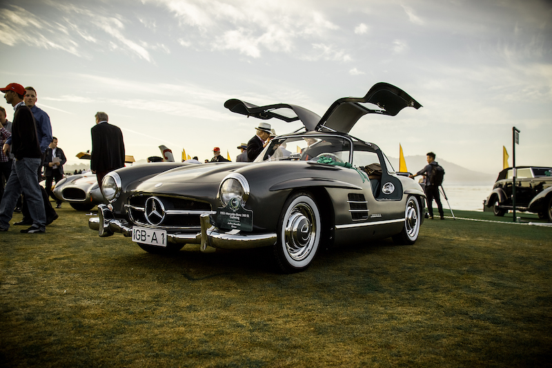 Mercedes-Benz 300 SL at Pebble Beach Concours d'Elegance