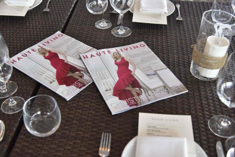 Christie Brinkley Haute Living New York Cover