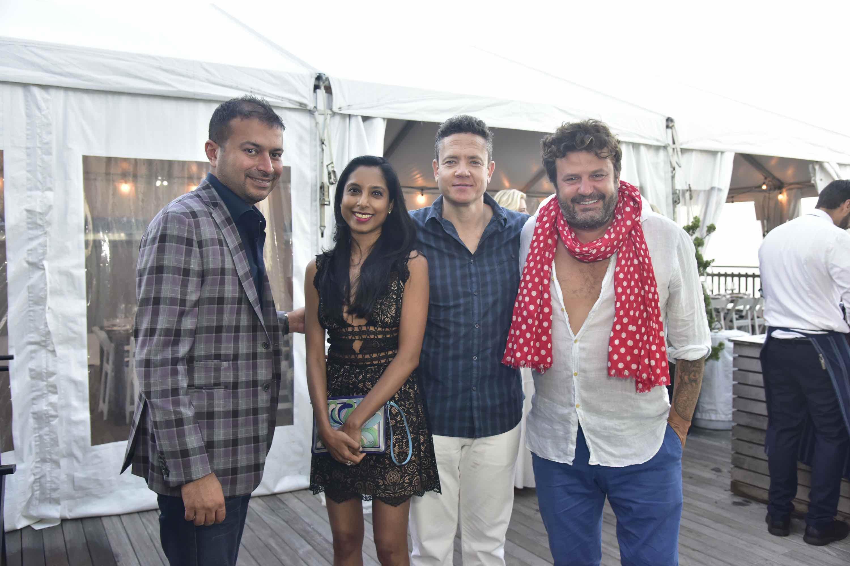 Kamal Hotchandani, Dr. Roshni Raj, Arnold, Domingo Zapata