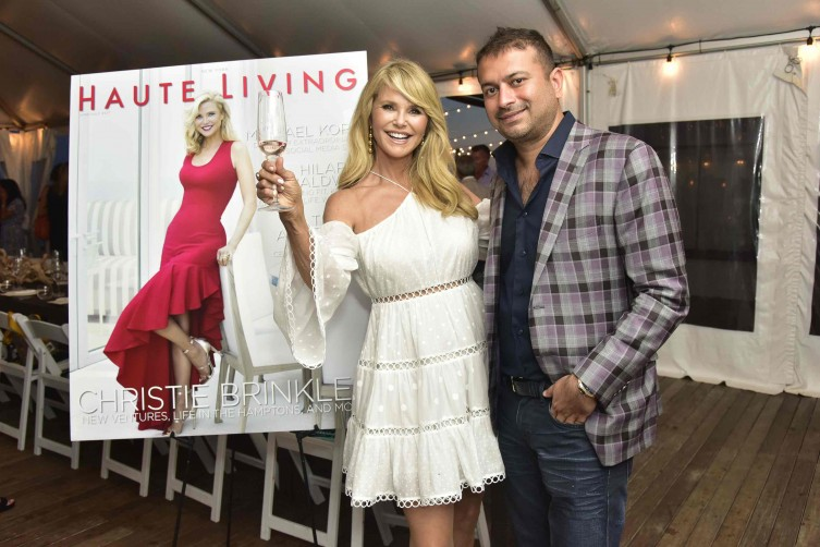 Christie Brinkley and Kamal Hotchandani