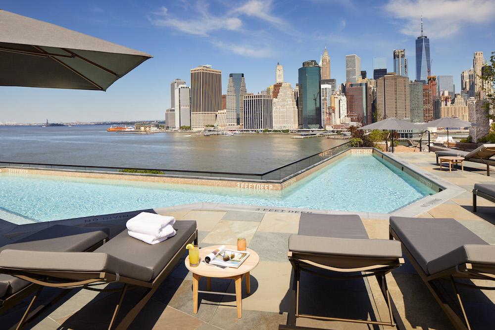 A Look Inside The Newly Opened 1 Hotel Brooklyn Bridge