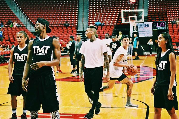 Chris Brown Thomas and Mack Las Vegas Haute Living Tita Carra