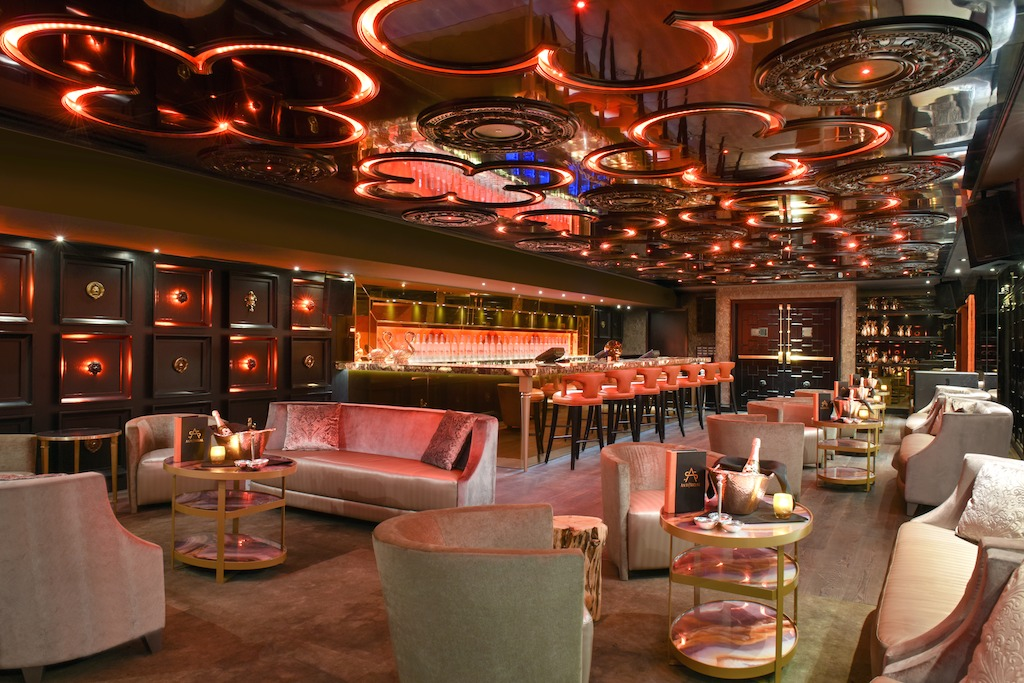 Ora nightclub in Miami Beach designed by Francois Frossard of FFD Designs.