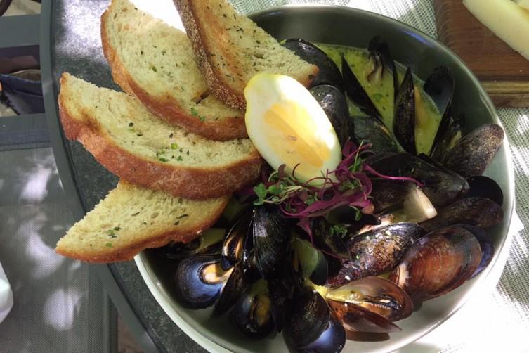 L'Auberge Mussels