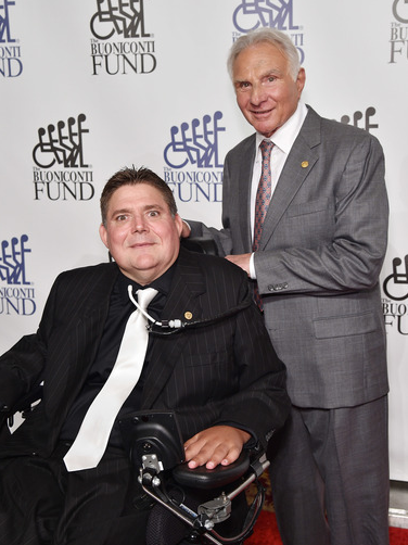 Marc Buoniconti and Nick Buoniconti