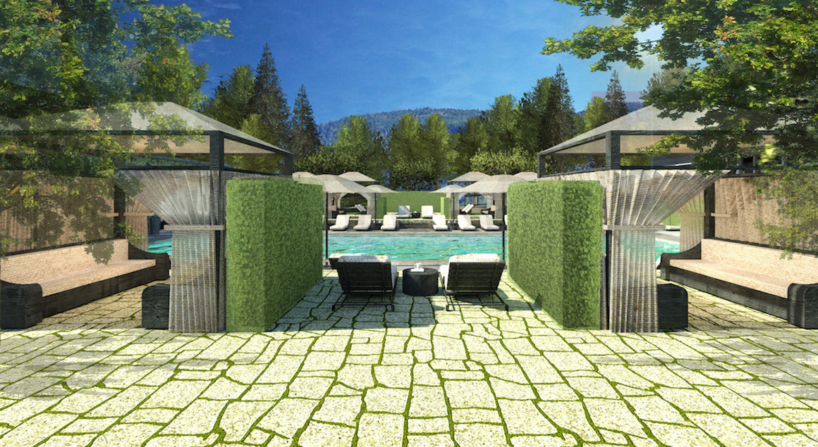 Another rendering of the upper adult pool