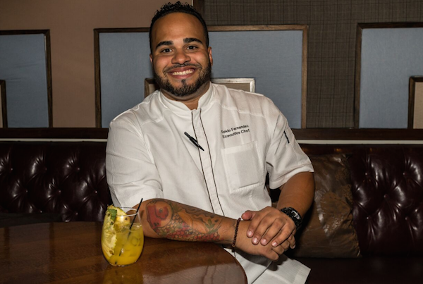 Chef Kelvin Fernandez, winner of Beat Bobby Flay