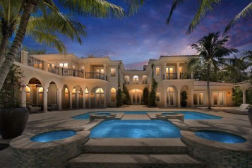 Mediterranean-Style Mansion Owned by Miami Heat's Tyler Johnson