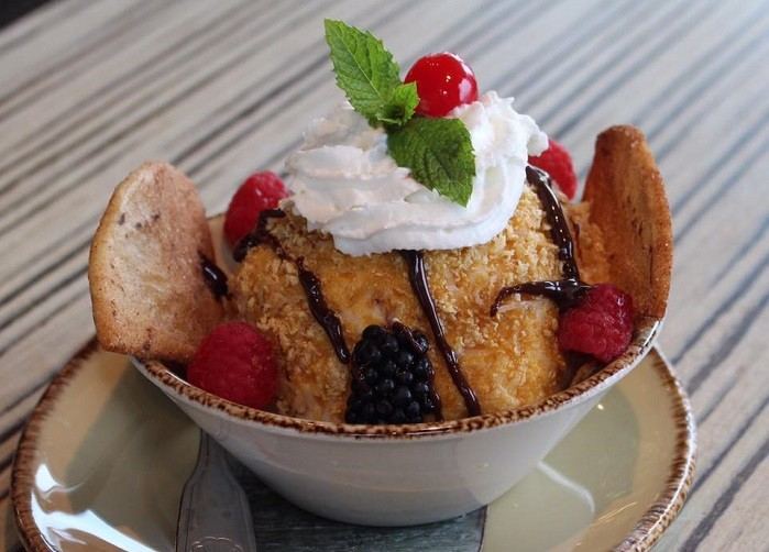 Temazcal Fried Ice Cream