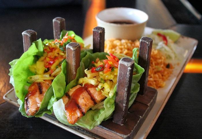 Temazcal Salmon Taco