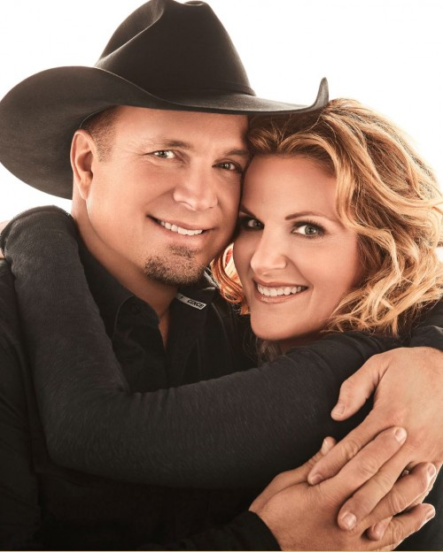 Yearwood with husband Garth Brooks